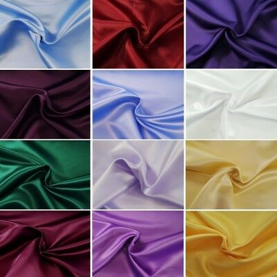 Special Duchess Satin Bridal Dress Fabric 100% Polyester Material