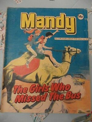 1980's  MANDY picture library no. 32 The Girls Who Missed The Bus