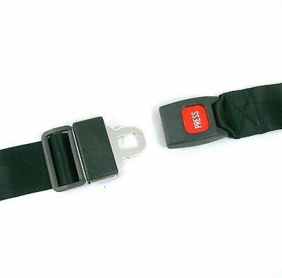 Car Style Clunk Click Seat Belt Press Release Buckle Lap Strap for Wheelchairs