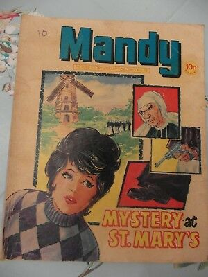 1979  MANDY picture library for girls  No. 18 -  Mystery at St. Mary's