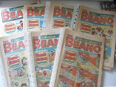 26 Beano Comics Mixture of Months from 1988 Excellent Condition