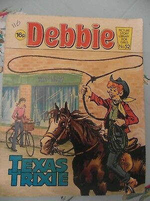 1982  DEBBIE picture library for girls  No.52 -  Texas Trixie