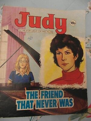 1983  JUDY picture library for girls  No.238 -  The Friend That Never Was