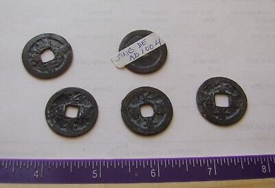 LOT 1000 year old Chinese shipwreck coins !!