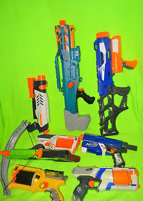 Nerf Gun Lot of 8 Guns