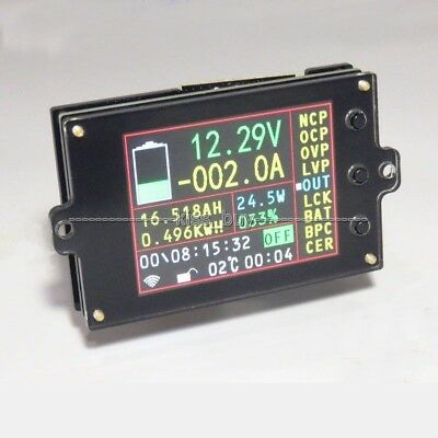 Battery Monitor Meter Wireless DC 120V 200A VOLT AMP AH SOC Remaining Capacity