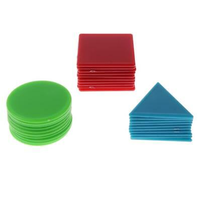 30pcs Maths Counters Games Sorting Counting Games Numeracy Educational Toy