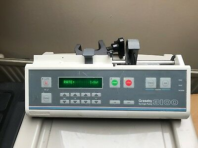 Graseby 3100 Syringe Driver Infusion Pump