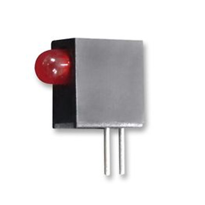 5x L-710A8EW/1ID Diode LED in housing No.of diodes1 3mm THT red 12-25mcd