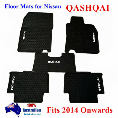 Waterproof Rubber Floor Mats Tailor Made For Nissan Qashqai 2014 - 2018 Current