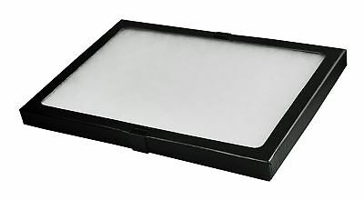 Riker Style Display Case Box 8x12x.75 Shadow Collection Foam Jewelry NEW