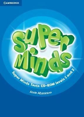 Super Minds Levels 1 and 2 Tests CD-ROM by Annie Altamirano (CD-ROM, 2014)