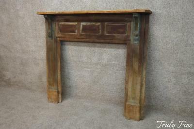 Period Antique Federal Fireplace Mantle Architectural Salvage Great Old Finish