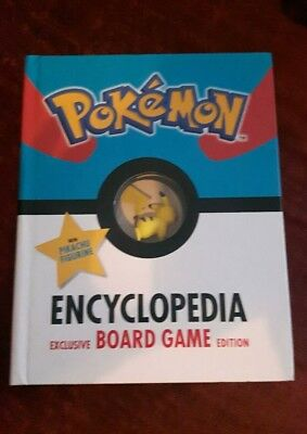 The Official Pokemon Encyclopedia Special Edition: With Exclusive Board Game an…