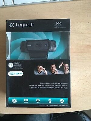 Logitech HD Pro C920 Webcam New, Boxed and Sealed