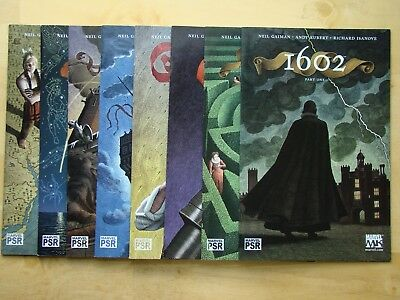 1602 Lot (2003) #1,2,3,4,5,6,7,8 (Nm) Full, Neil Gaiman