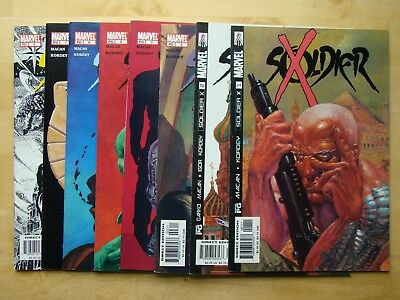 Soldier X Lot (2002) #1,2,3,4,5,6,7,8 (Vf/nm) Macan & Kordey, Cable, Set