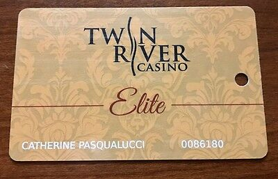 Twin River Casino Elite Slot Card Rhode Island - Mustard - Very Scarce