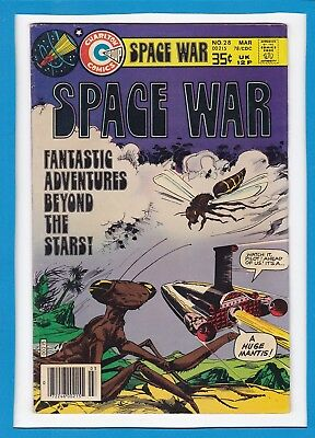 Space War #28_March 1978_Very Fine Minus_Steve Ditko_Bronze Age_Charlton Comics!