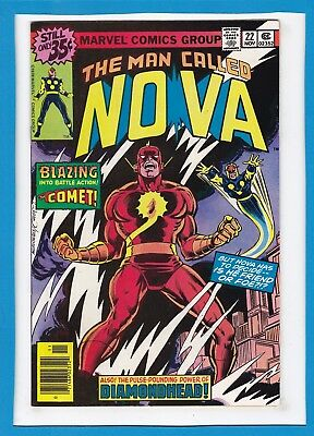 "The Man Called Nova #22_November 1978_Vf+_""the Coming Of The Comet""_Bronze Age!"