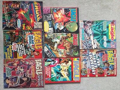 Lot of Eagle Comics from 80's (182 of)