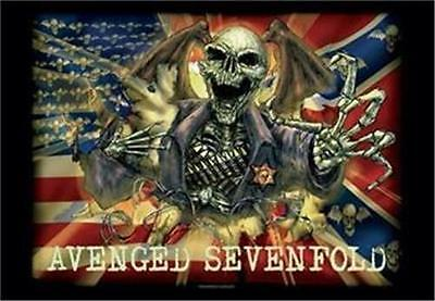 AVENGED SEVENFOLD Rock flag/ Tapestry/ Fabric Poster    NEW