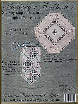 Hardanger Workbook 1 - Kelly Cole - Euphemia Forest Charts Embroidery Booklet