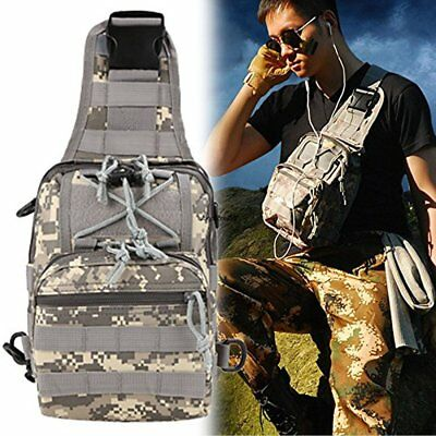 Tactical Sling Chest Bag Assault Pack Messenger Shoulder Bag Backpack Molle
