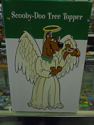 """Scooby Doo Christmas Tree Topper In Box  Warner Bros 1997 10 1/2"""" Tall"""