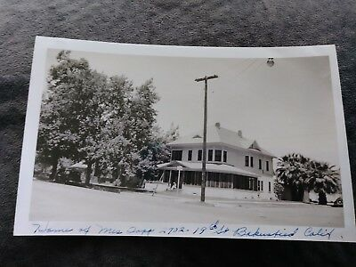 Old Photo Home Of Mrs Topp 2702 19Th St Bakersfield, Ca 1948