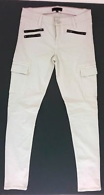 Sanctuary Clothing Womens Civilian Cargo Skinny Pant Pale Pink Size 27