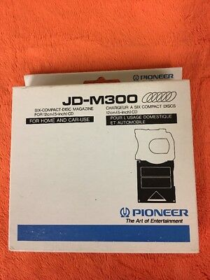 Pioneer (JD-M300) Six Compact Disc CD Magazine for Home and Car-Use