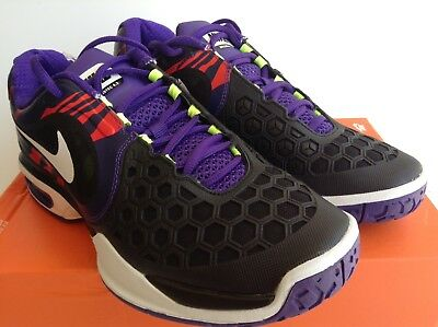 cab61c35cd0670 NIKE AIR MAX Courtballistec 4.3 Black-White-Court Purple Mns.sz 7 ...
