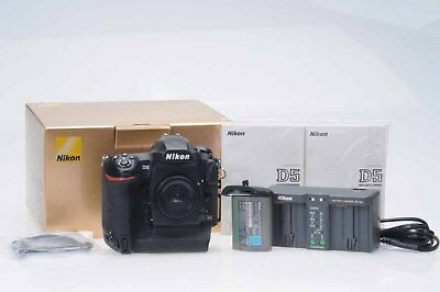 Nikon D5 Digital Camera 20.8MP DSLR Camera Body (Dual XQD Slots)            #126