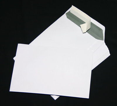 250 St Envelopes Extra Strong 120 Size DIN A4 C4 White Without Windows HK