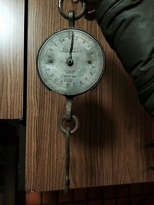 Salter Spring Scale Antqiue Victorian C1800