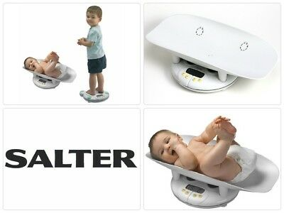 Salter Baby Scale Infant Toddler Bath Weight Growth Chart Digital Display Bath