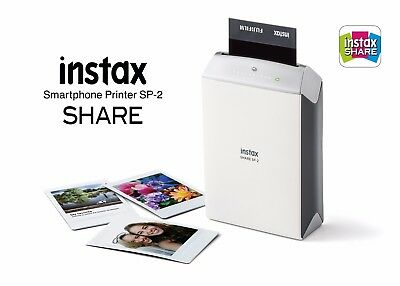 Fujifilm INSTAX SHARE SP-2 Smart Phone Printer (Silver) FREE PRIORITY SHIPPING