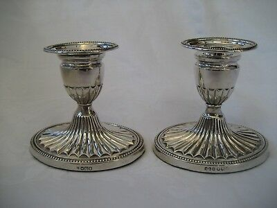 Pair Of Victorian Adams Style Candlesticks