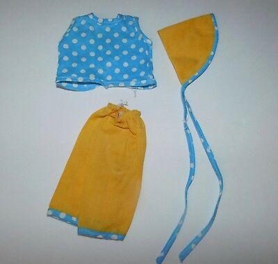 R&B Arranbee Littlest Angel 3 Piece Outfit  1950's Factory Made Blue and Yellow
