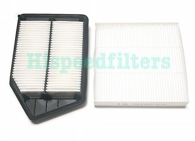 ENGINE&CABIN AIR FILTER For HONDA ACCORD 13-17 ACURA TLX 2.4L 4CYL US Seller