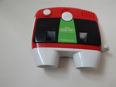 Vintage talking Viewmaster 3D Viewer with Sesame Street cartridge, Tyco 1997