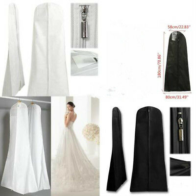 Hot Wedding Dress Bridal Gown Garment Dustproof Breathable Cover Storage Bag