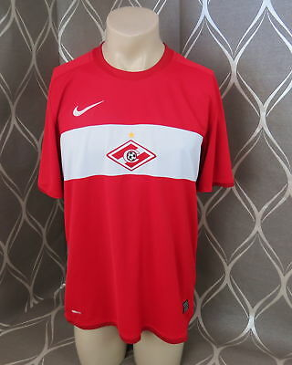 Spartak Moscow 2009 home shirt Nike soccer jersey size L