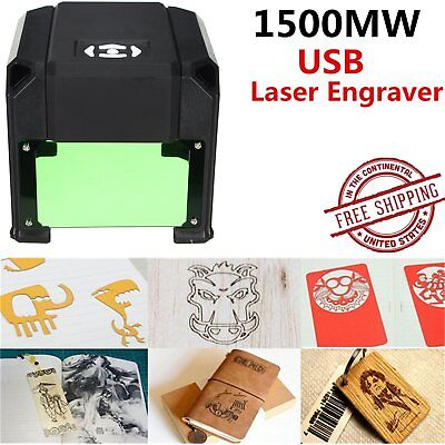 1500mW USB Laser Engraver DIY Logo Mark Carver Engraving Carving Machine OR