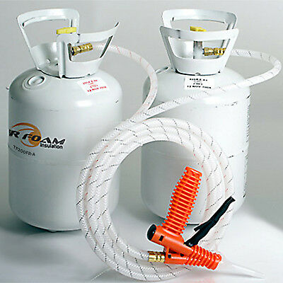 Tiger Foam 200bd/ft Quick Cure Spray Foam Insulation Kit - FREE SHIPPING