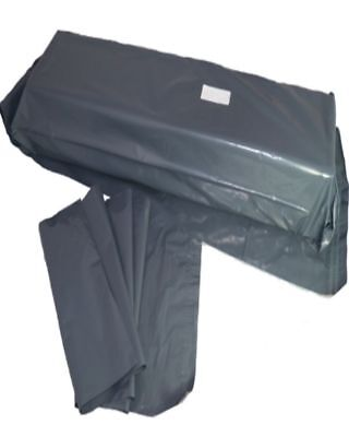 """2000 Grey Plastic Mailing Bags Size 12x35"""" Mail Postal Post Postage Self Seal"""