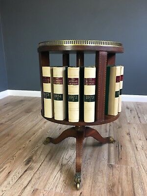 Unusual Antique Revolving Bookcase Uk Delivery £30