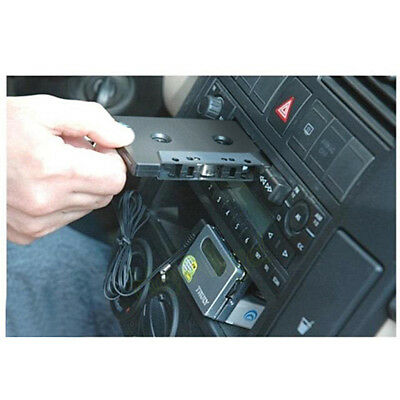 Audio AUX Vehicle Cassette Tape Adapter Converter 3.5MM For iPhone MP3 CD Player