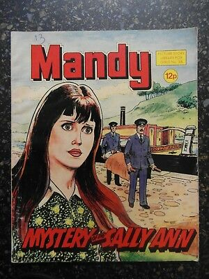 1980 MANDY picture library for girls  No.26 -  Mystery of the Sally Ann